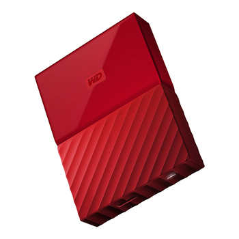 HDD 2TB W.D My Passport WDBYFT0020BRD red