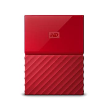 HDD 4TB W.D My Passport WDBYFT0040BRD red