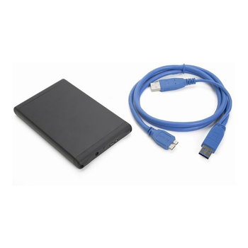 "Hard disk enclosure for 2.5"" HDD GEMBIRD EE2-U3S-1"