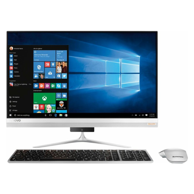 PC LENOVO IdeaCentre AIO 520S-23IKU F0CU0036RI silver + Gift Antivirus Internet Security 3PCs 1Year BULLGUARD worth 49