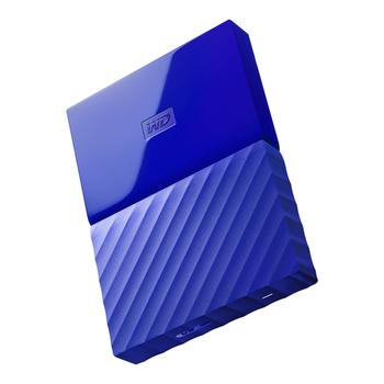 HDD 1TB W.D My Passport WDBYNN0010BBL blue