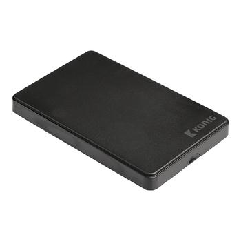 """Hard disk enclosure for 2.5"""" KONIG CSU3HDE25S100 black"""
