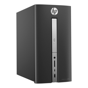 PC HP Pavilion 570-p009nv 1GS83EA black + Gift Antivirus Internet Security 3PCs 1Year BULLGUARD worth 49