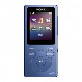 Portable media player 8GB SONY NW-E394L blue