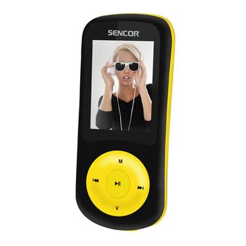 Portable media player 8GB SENCOR SFP 5870 black/yellow