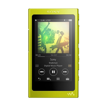 Portable media player 16GB SONY NW-A35HNY yellow