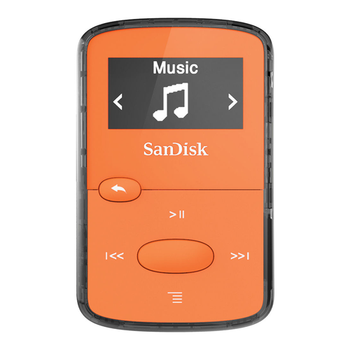 MP3 player 8GB SANDISK Clip Jam SDMX26-008G-G46O orange