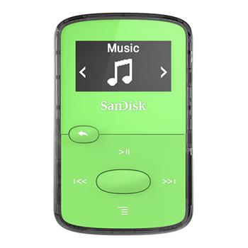MP3 player 8GB SANDISK Clip Jam SDMX26-008G-G46G green
