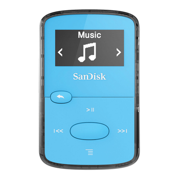 MP3 player 8GB SANDISK Clip Jam SDMX26-008G-G46B blue