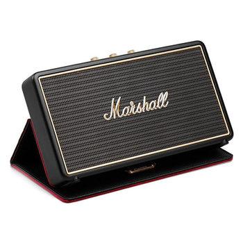 Portable speaker MARSHALL Stockwell with flip cover black