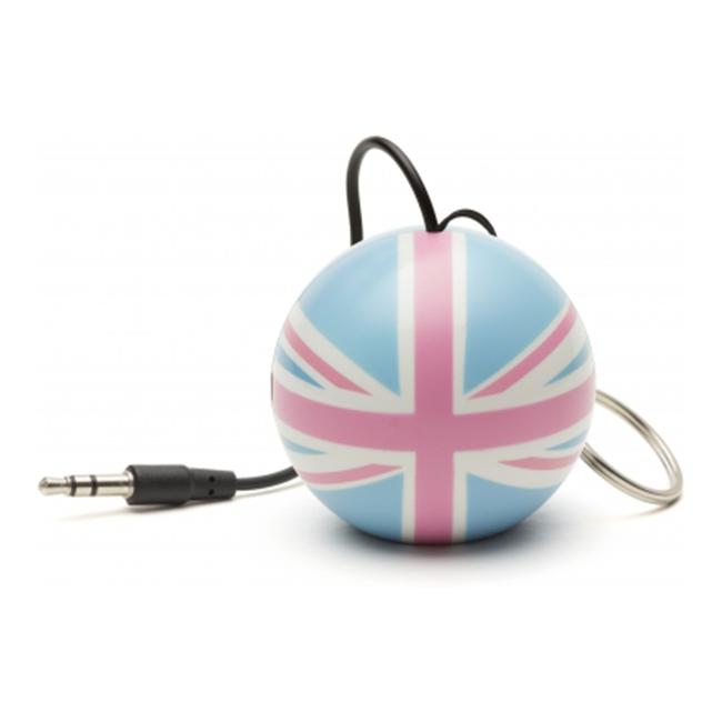 Portable speaker KITSOUND Mini buddy union jack pastel KSNMBOU
