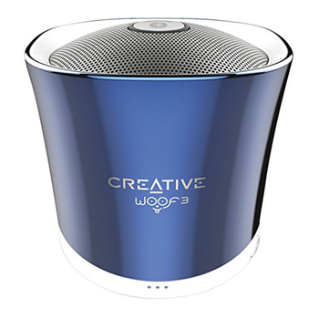 Portable speaker CREATIVE Woof 3 51MF8230AA002 blue
