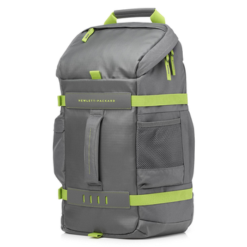 """Case for laptop 15.6"""" HP Odyssey Sport Backpack L8J89AA grey/green"""