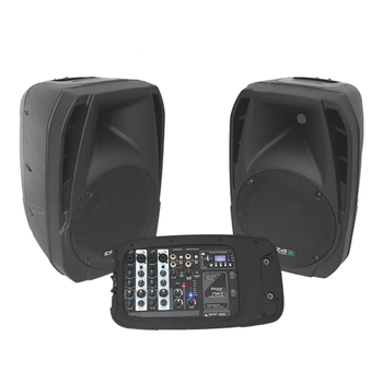 Portable Amplifier Sound System IBIZA COMBO210