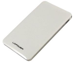 "LC Power LC-25BU3 Storage enclosure 2.5"" SATA 6Gb / s 600MBps USB 3.0 white"