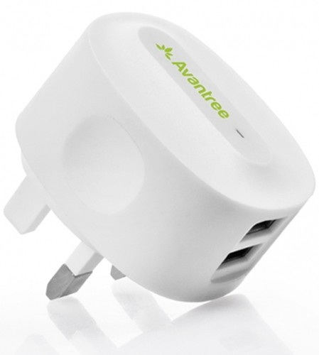Avantree TR602 -E Dual USB Wall Charger 2.1A