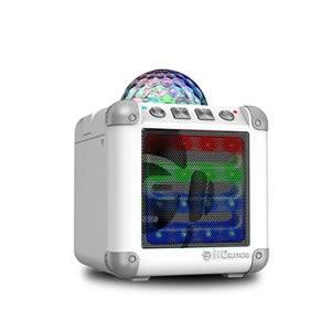 iDance CM-3 Cube Mini 3 Portable Speaker Bluetooth/Disco Ball White