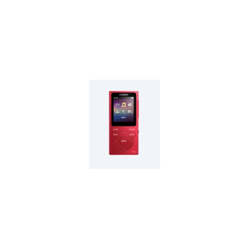 Sony Walkman NW-E393 MP3 4GB Red