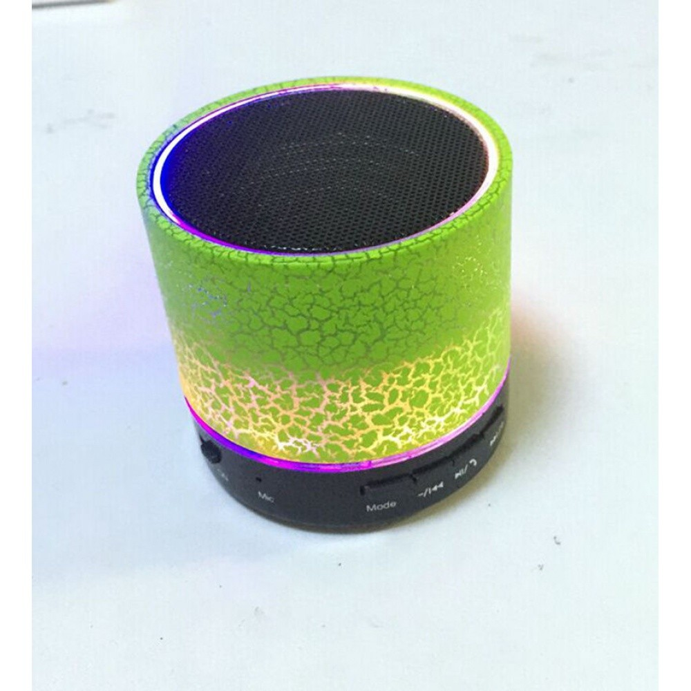Bluetooth Wireless FM Stereo Mini Speaker For SmartPhone Tablet Mosaic Green