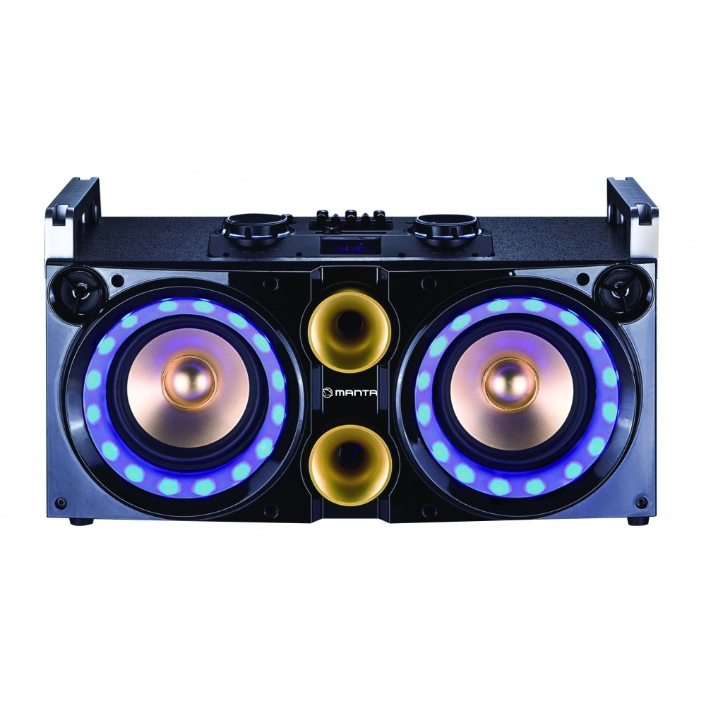 Manta Party Multimedia 2.1 Mega Bass System Speaker 80W