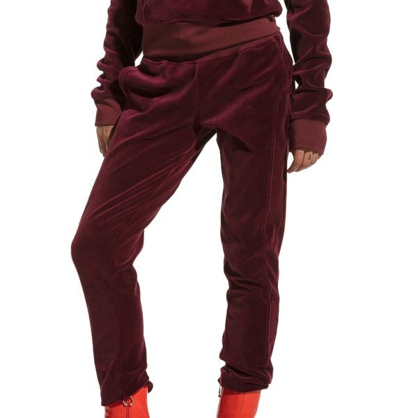88917626cc7 PUMA FENTY SWEATPANT VELOUR FITTED ZIP-UP TRACK JAC 575838-02 575838-02