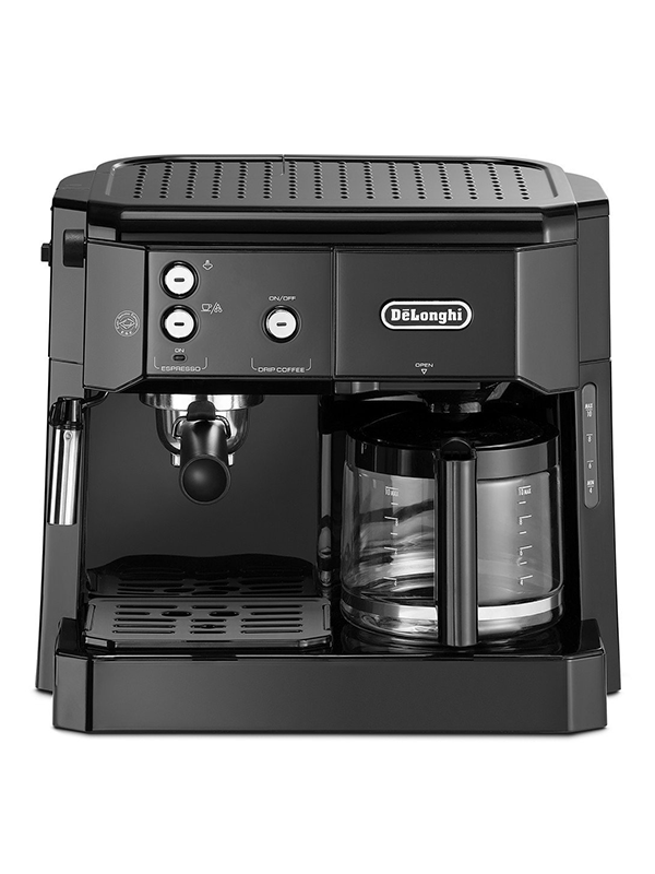 Delonghi BCO 411.B Combi Espresso & Filter Coffee Maker, Black