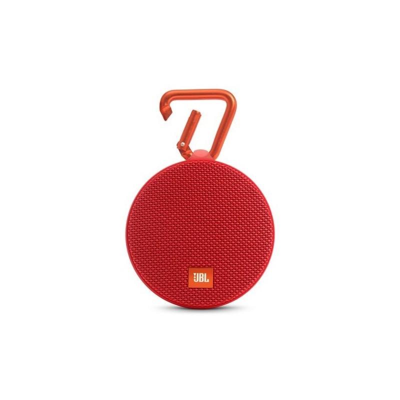 JBL Clip 2 Portable Bluetooth Wireless Speaker Red