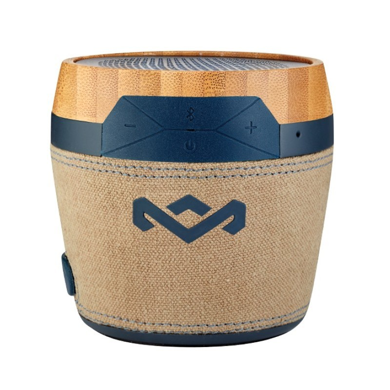 The House Of Marley Chant Mini Portable Bluetooth Speaker Navy