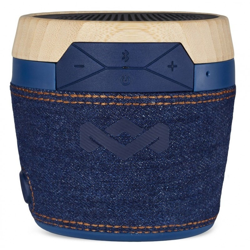 The House Of Marley Chant Mini Portable Bluetooth Speaker Denim