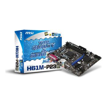 Motherboard MSI H61M-P23