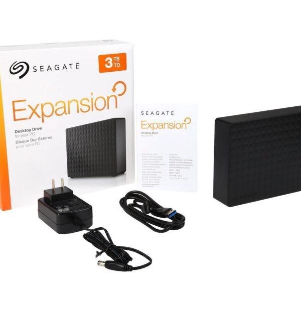 Seagate Expansion 3TB USB 3.0 3.5 Desktop External Hard Drive