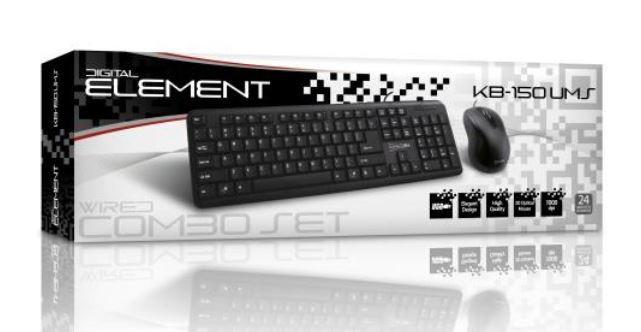 Element KB150UMS Keyboard & Mouse Set