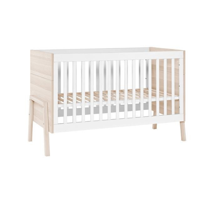 Like New Non-Ironing Collection Here Kinderkraft Uno Bedside Crib grey