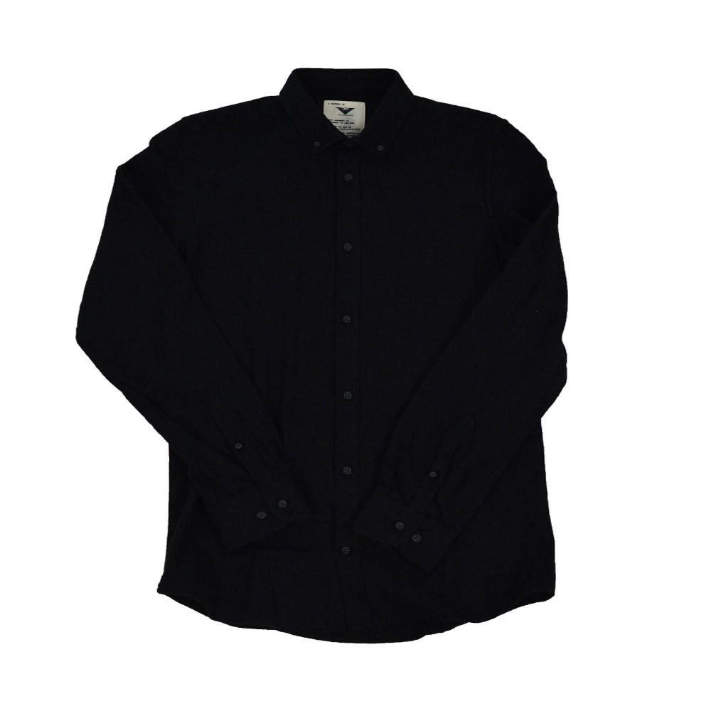 58f5b87e93dc Gnious Shirt Ditto Ανδρικό - Μαύρο (32-300143-9513)